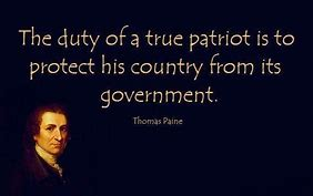 Image result for Thomas Paine Patriotism