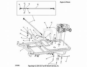 Dr Power Chassis Parts Diagram For Engine To Chassis  Serial  Vpz001173 And Above