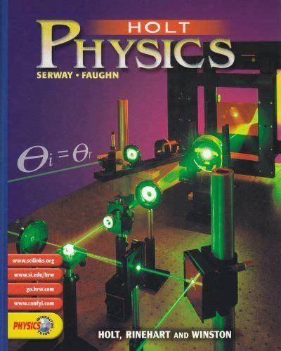 Physics Textbookholt Physics Pupil Edition 2002  Upper School Textbooks Pinterest
