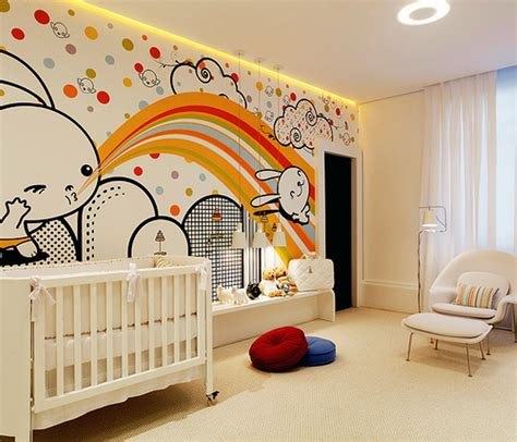 Kid Room Decorating Ideas Awesome Modern Baby Rooms Decor