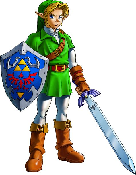 The Legend Of Zelda Ocarina Of Time Characters