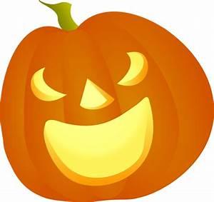 Halloween Pumpkin Smile Clip Art at Clker.com - vector ...