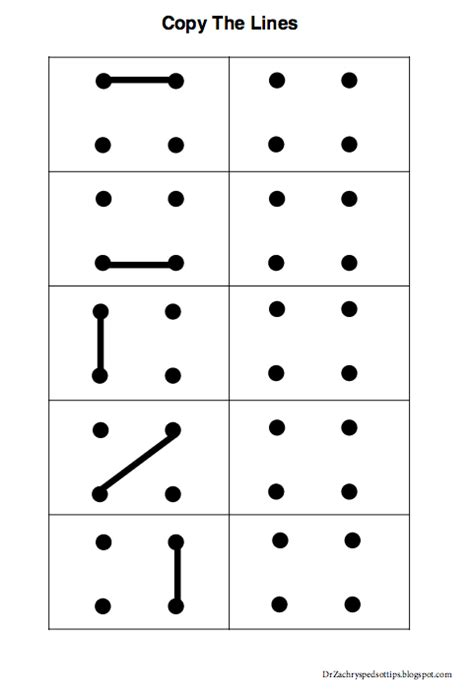 Pediatric Occupational Therapy Tips Free Visual Perceptual Worksheets