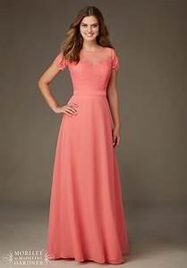 dress mori lee bridesmaids spring 2016 collection 124 With robe de cortege femme