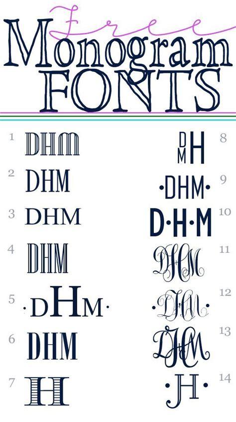 monogram fonts silhouette fonts monogram fonts lettering
