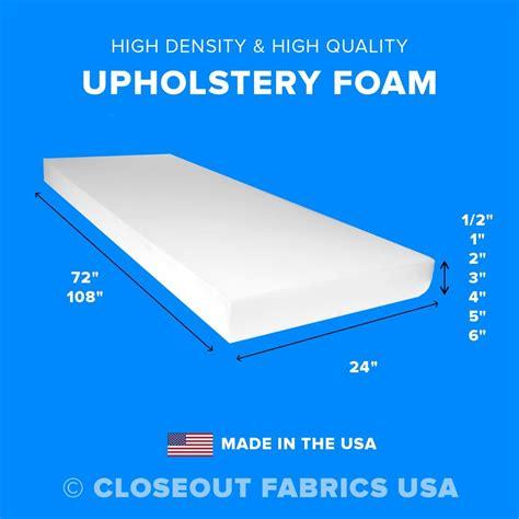 Foamultra High Density Upholstery  Ee  Foam Ee   Seat Cushion