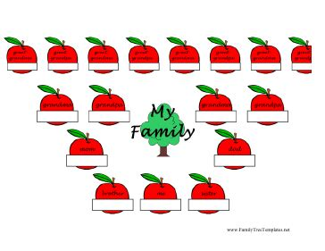 Family Tree Templates For Mac by Apple Family Tree Template