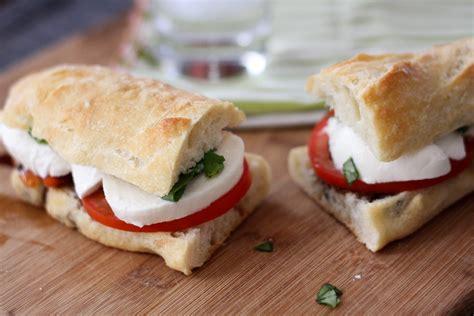 caprese sandwich caprese sandwich culinary style
