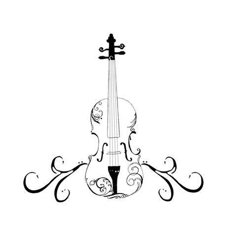 violin tattoo images violin tattoo violin