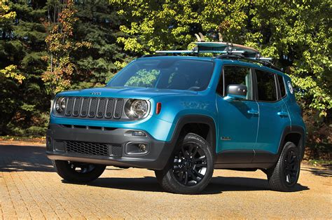 jeep renegade dark blue jeep renegade brilha no sema show memória motor