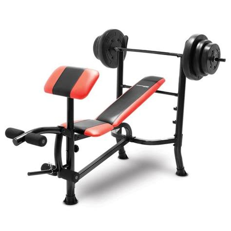 Competitor Bench 100 Lb Weight Set Cb2982 Quality Strength