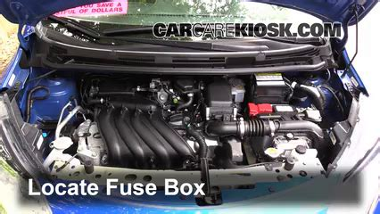 Fuse Box 2014 Versa Note by Replace A Fuse 2014 2016 Nissan Versa Note 2015 Nissan