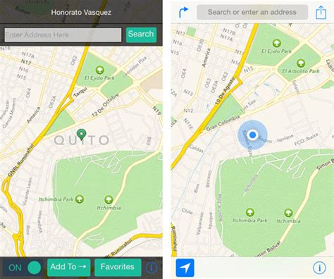iphone spoof location how to spoof your iphone location data on ios 8 the