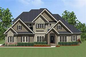 Exciting, Traditional, House, Plan