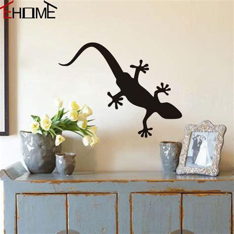 Animals Lizard Wall Stickers Decorations Vintage Stencils