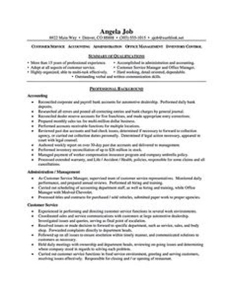 Customer Focus Skills Resume by This Is A Really Layout For An Entry Level Office Admin Its Focus Is On Skills And A