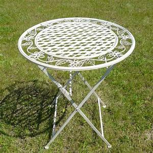 Table Jardin Fer Forgé : table de salon de jardin en fer forg chaises bancs ~ Dailycaller-alerts.com Idées de Décoration