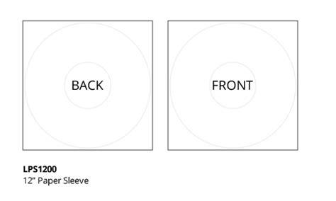 disc makers templates vinyl templates