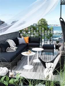 Balkon Sichtschutz Diy : 15 sch ne balkon ideen f r den sommer ~ Whattoseeinmadrid.com Haus und Dekorationen