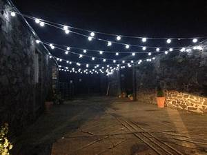 Festoon lighting bradgate event furniture hire