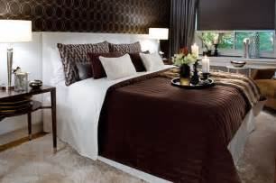 Brown White Bedroom Ideas by Jane Lockhart Chocolate Brown White Bedroom Modern