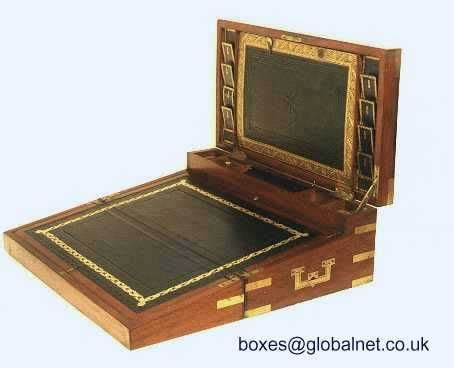 double opening  triple writing box