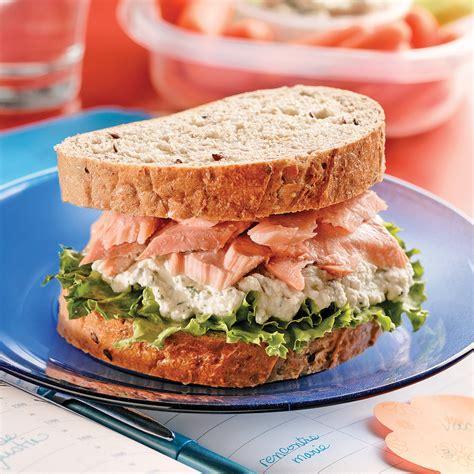 cuisine saumon sandwichs au saumon frais recettes cuisine et