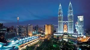 Kuala Lumpur At Night Malaysia Desktop Hd Wallpaper ...
