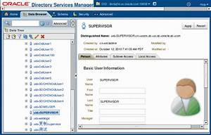 Configuring ODI External User Authentication