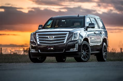 cadillac escalade hpe supercharged upgrade hennessey