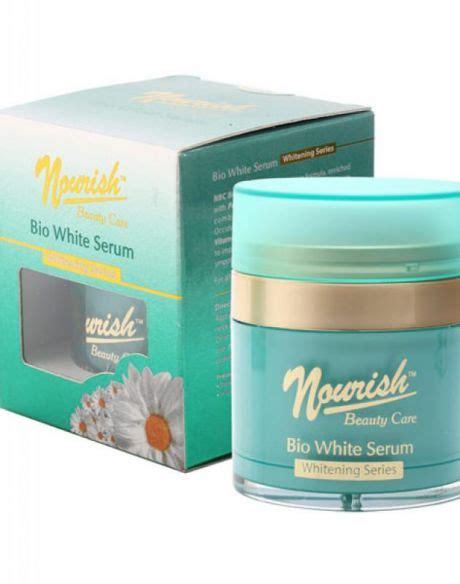 Nourish skin akan membantu anda untuk menghilangkan bintik hitam secara alami tanpa efek samping. Nourish Beauty Care Bio White Serum - Review Female Daily