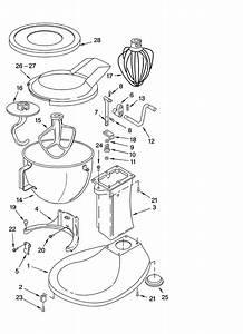 4775 Kitchen Mixer Wiring Diagram