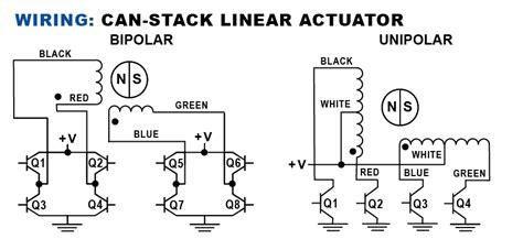 Can Stack Stepper Motor Linear Actuator Haydon Kerk