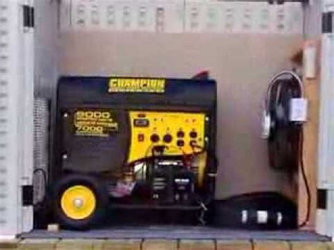 Generac Portable Generator Shed by Generator Shelter How To Make Do Everything