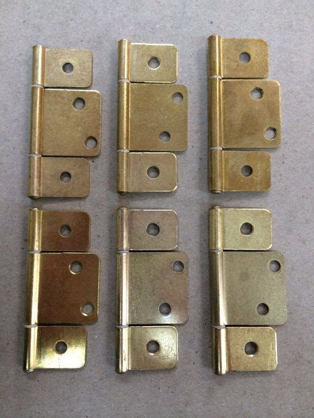 mobile home parts   interior door hinges polished