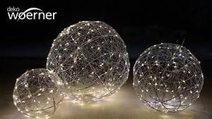 Weihnachtsbaum Aus Draht : led draht leuchtkugel blinkend 45 cm youtube ~ Bigdaddyawards.com Haus und Dekorationen