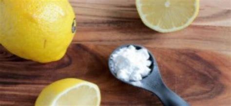 à quoi sert le bicarbonate de soude en cuisine à quoi sert le citron avec du bicarbonate de soude le