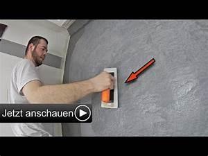 Steinoptik Wand Selber Machen : betonoptik selber machen i alpina wand spachteltechnik zum streichen youtube home ~ A.2002-acura-tl-radio.info Haus und Dekorationen