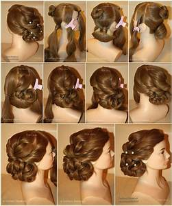 Holiday Hairstyle Step by Step DIY Craft Projects