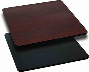 36'' Square Table Top Reversible Laminate Top by Flash ...