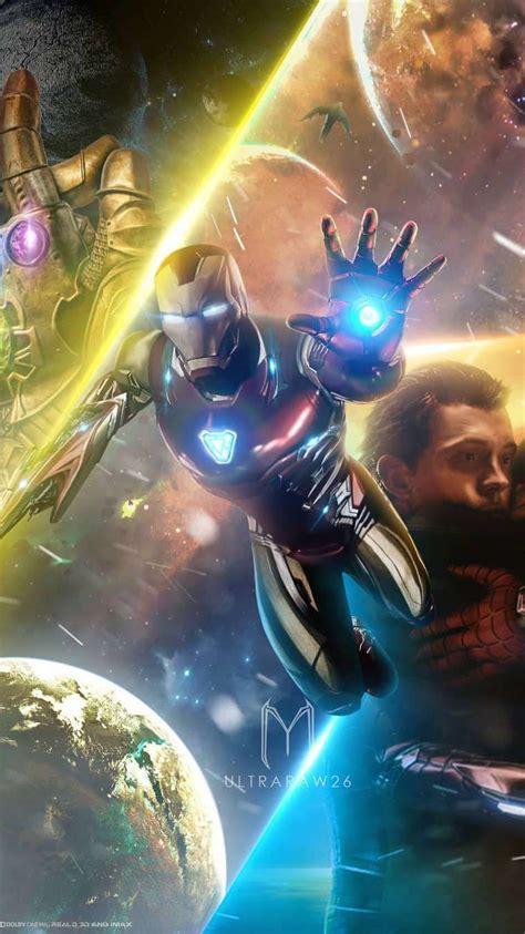 avengers endgame tony stark iron man hd iphone wallpaper
