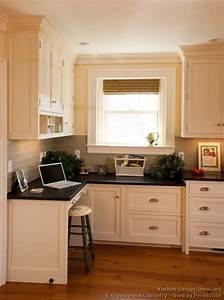 Kitchen Cabinet Desk Ideas Pictures Of Kitchens