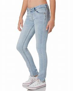 Levi 39 S 711 Skinny Jean Bleached Out Surfstitch