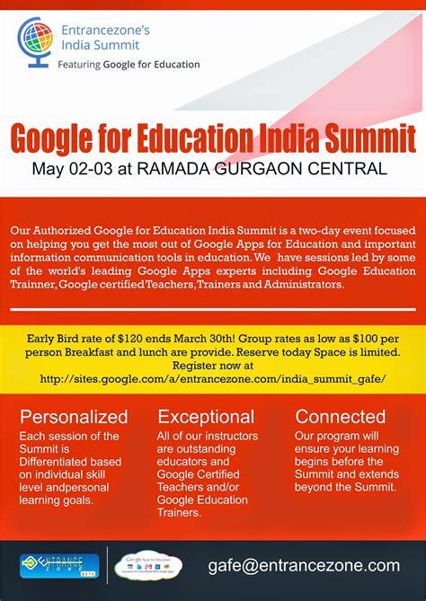 google apps  education india summit