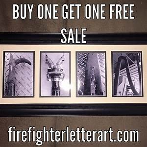 firefighter letter art is the perfect gift for any With firefighter letter art alphabet