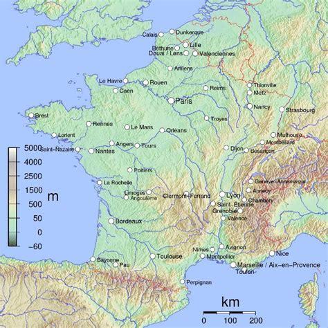Carte Des Fleuves De by Vacances Fleuves 187 Vacances Arts Guides Voyages
