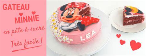 gateau en pate a sucre facile gateau minnie pate 224 sucre facile univers cake univers cake