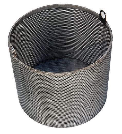 Panier Inox Perforé Renforcé Pour Cuve 300 Litres