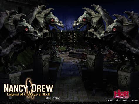Nancy Drew Games Legend Of The Crystal Skull Her