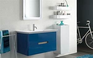 quelques liens utiles With meuble salle de bain bleu marine